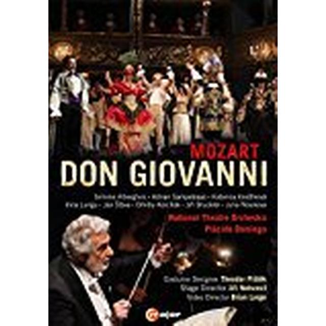 Mozart: Don Giovanni [Simone Alberghini; Irina Lungu; Julia Novikova; Dmitry Korchak; Jií Brückler; National Theatre Orchestra] [C Major Entertainment: 745208] [DVD]